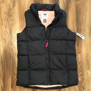 Old Navy Gray/Pink Frost Free Vest XL 14